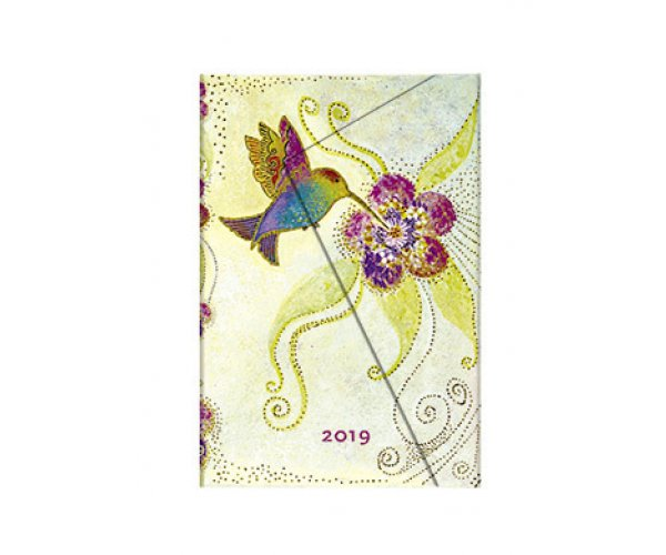 Paperblanks diář Hummingbird Mini 2019