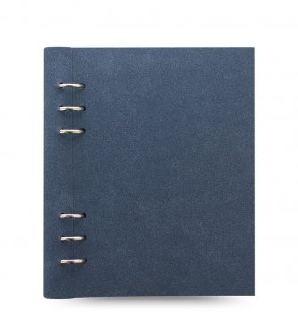Filofax Clipbook A5 Architexture Blue Suede