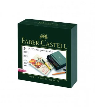 Faber Castell Pitt - brush - Studio Box