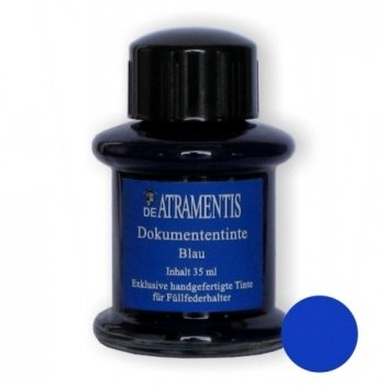 De Atramentis Document Blue, dokumentní inkoust