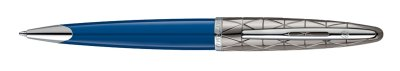 Waterman Carene Deluxe Contemporary Blue Obsession, kuličkové pero