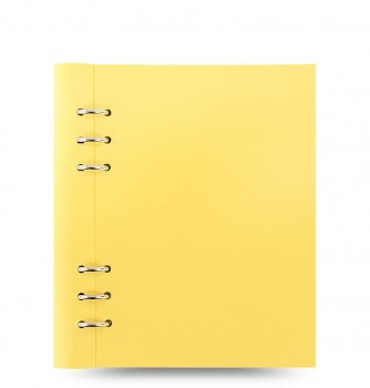 Filofax Clipbook A5 Pastels Lemon