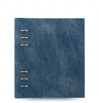 Filofax Clipbook A5 Denim